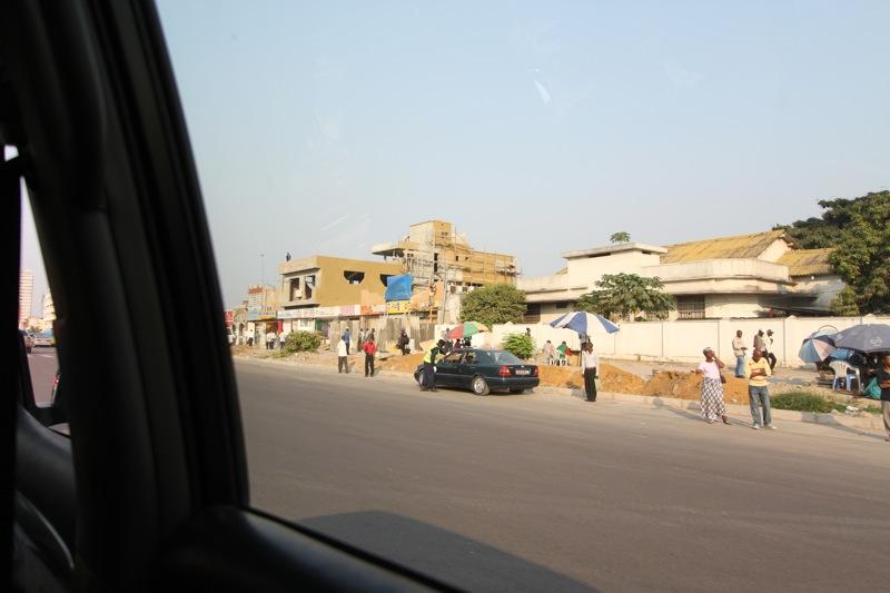 Une rue de Kinshasa