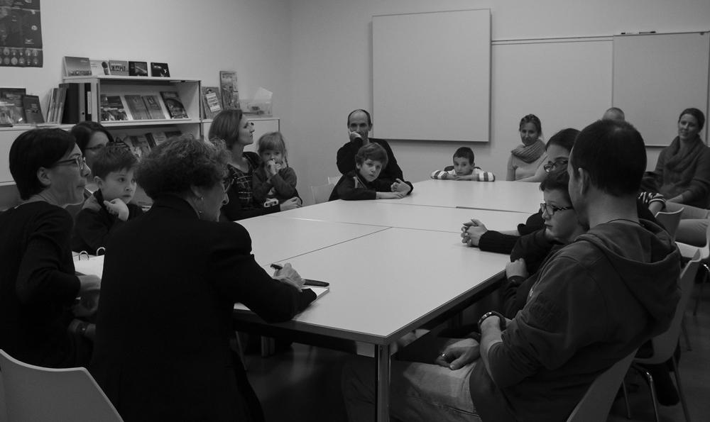 Bilan de décembre 2015 avec les parents et les enfants - Ecole d'Eveil Philosophique de Lausanne